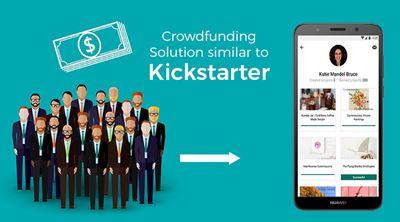 Crowdfunding Solution similar to Kickstarter